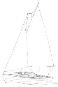 Belle 20.5 sailplan