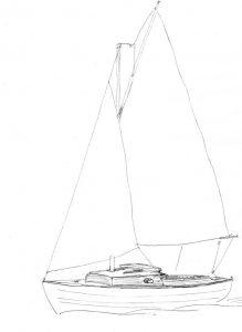 Belle 19 sailplan